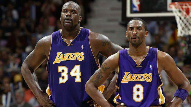 Un interviu chiar mișto cu Shaq și Kobe