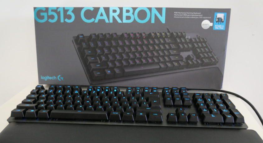 Logitech G513 – O tastatură aproape perfectă