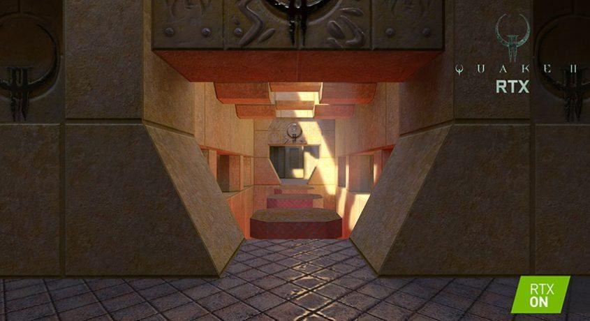 NVIDIA reface Quake II cu grafică ray-traced