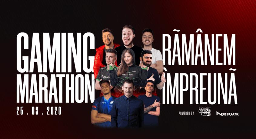 Gaming Marathon pe 25 martie 2020