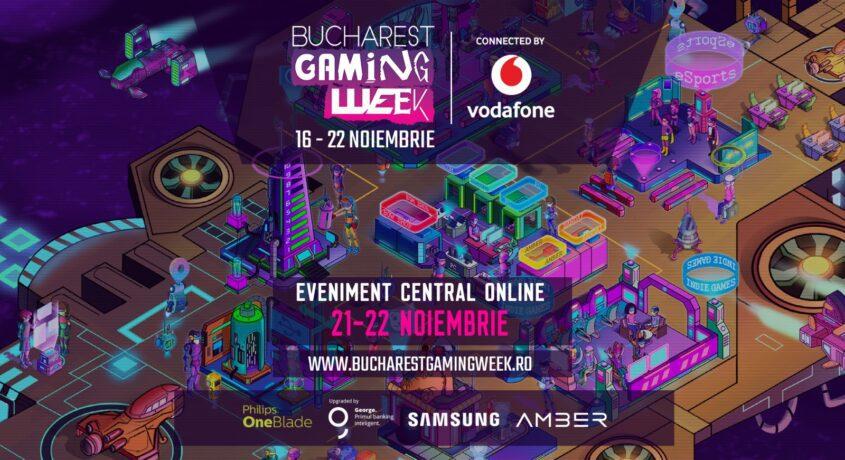 Bucharest Gaming Week se mută în online