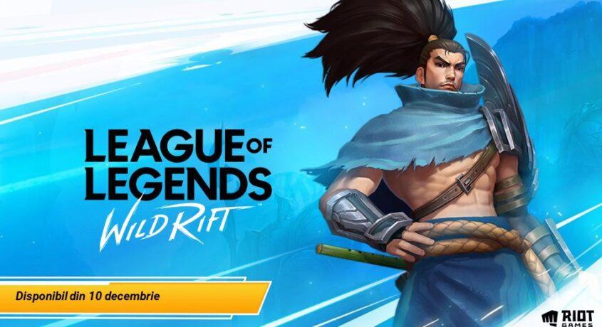 League of Legends: Wild Rift, versiunea de mobile a legendarului joc, se lansează astăzi