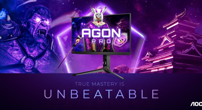 AGON by AOC lansează cel mai rapid monitor al brandului AGON PRO AG254FG cu 360 Hz și Nvidia Reflex